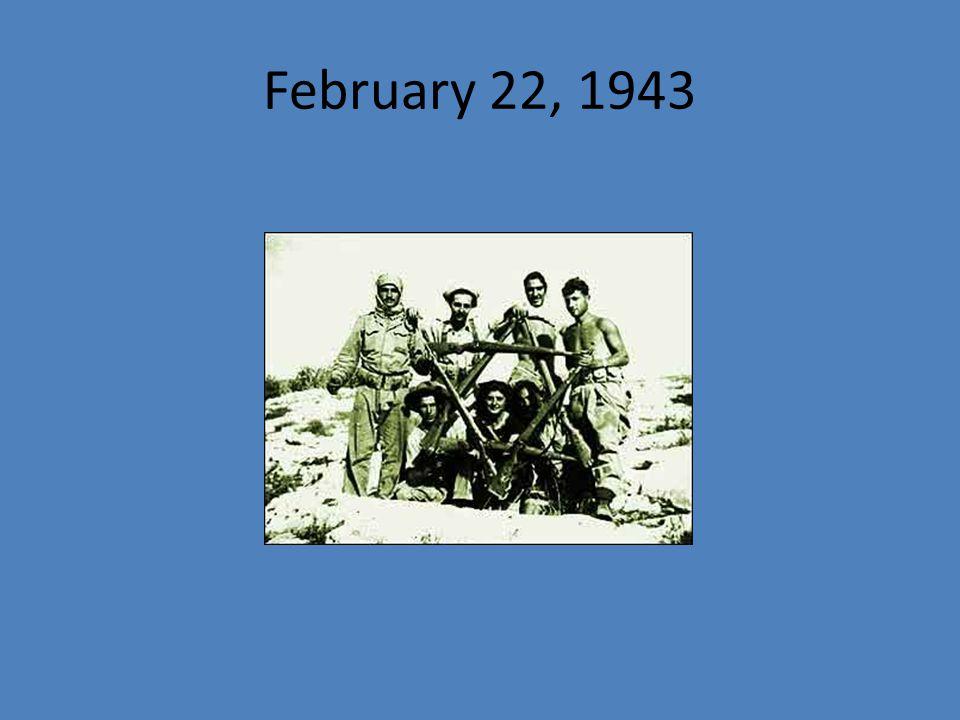 February 22, 1943