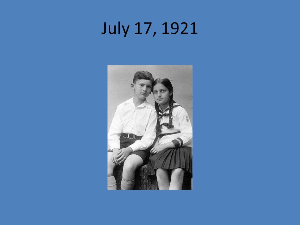 July 17, 1921