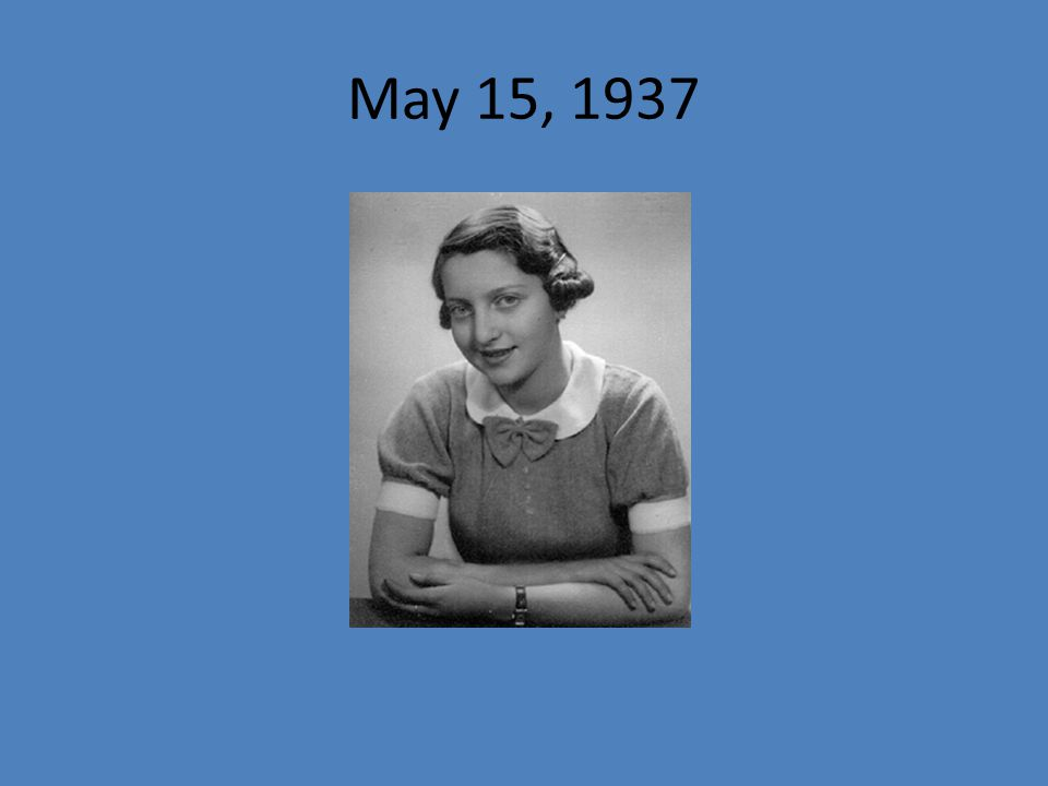 May 15, 1937