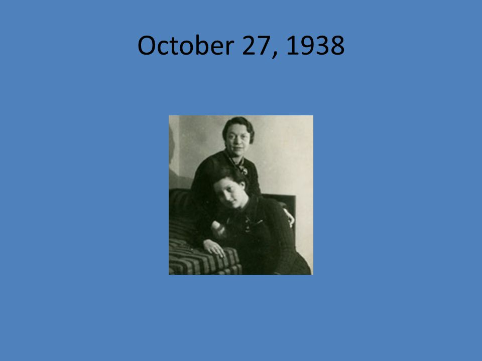 October 27, 1938