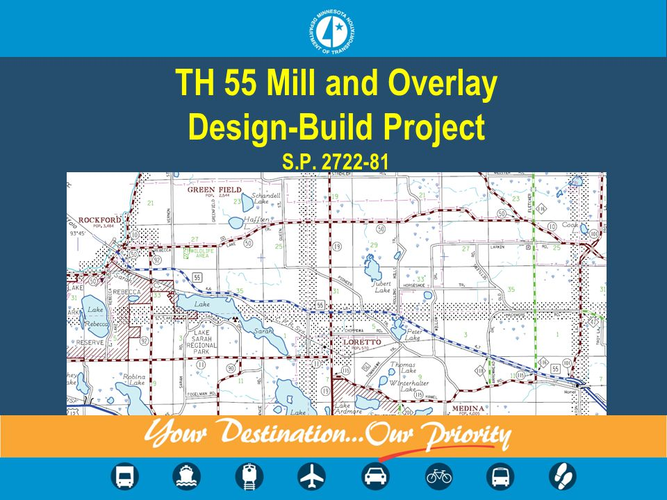 TH 55 Mill and Overlay Design-Build Project S.P. 2722-81