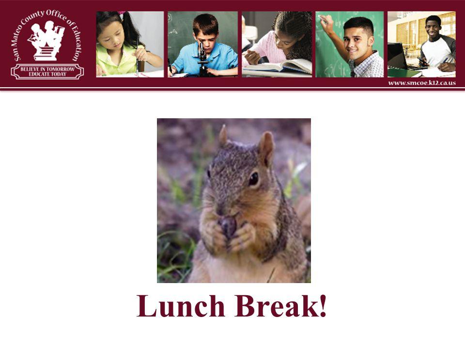 Lunch Break!