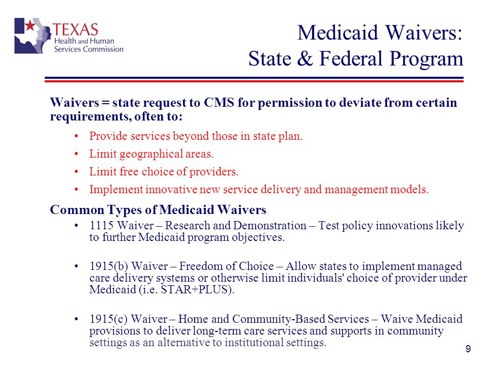 60 Initiatives from the 82 nd Texas Legislature Reduce inappropriate utilization of Emergency Departments (ED) by Medicaid recipients ED hospital rates – As of September 1, 2011, HHSC applied a 40% reduction to facility charges for non-emergent services delivered in an ED setting to recipients of Medicaid FFS Medicaid cost-sharing – Encourage personal accountability and appropriate use of health care services.