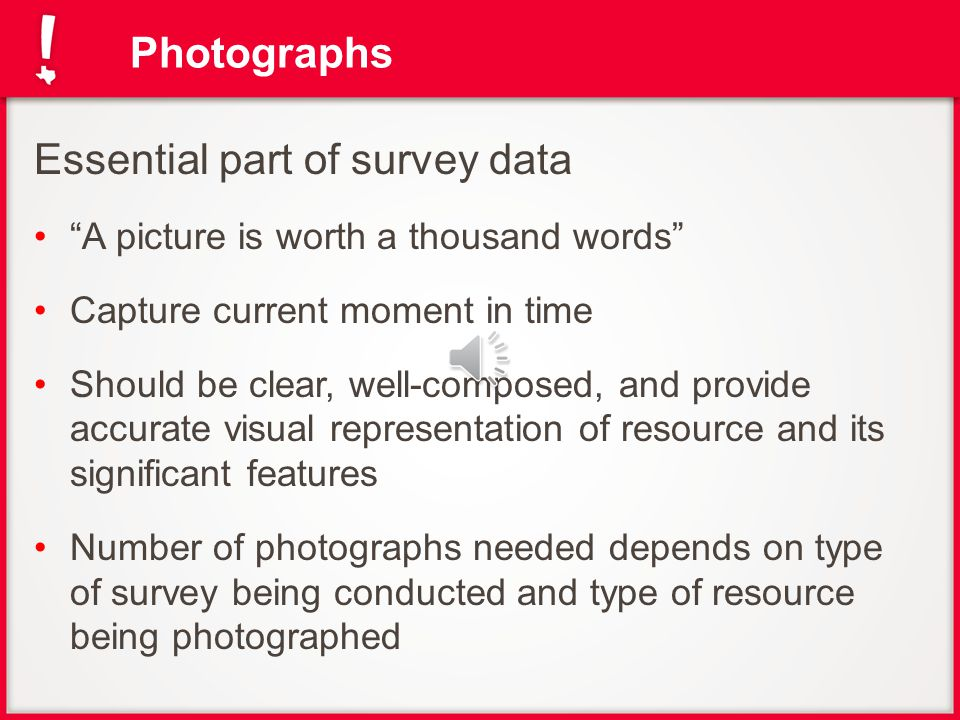 How to Take Photographs for Historic Resources Surveys