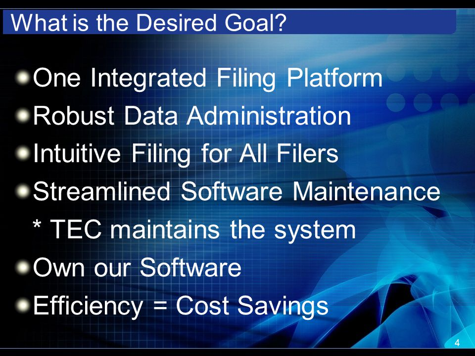 What is the Desired Goal.