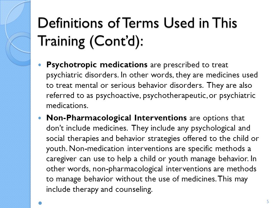 Deciding about Consenting to psychotropic medications The doctor must allow you to ask questions.
