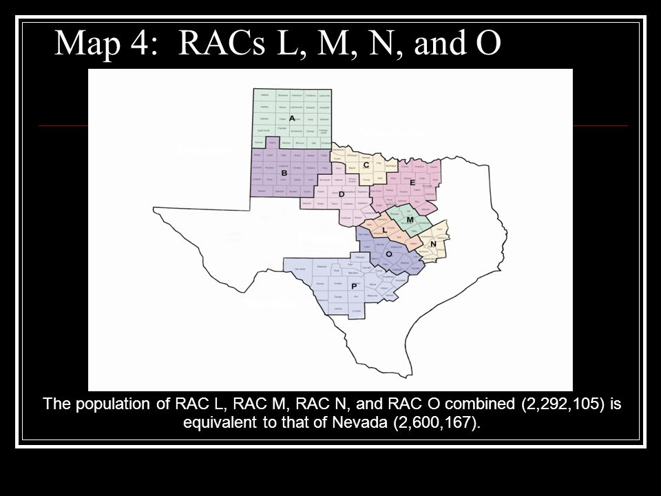 Texas EMS/Trauma System History By 1995 RACs had been established in all 22 trauma service areas.