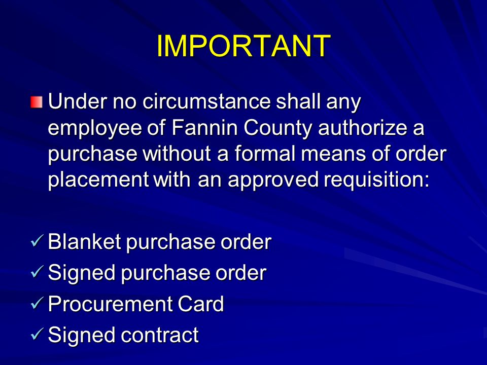 Fannin County Inventory/Fixed Asset Policy Taxpayers of Fannin County have an enormous investment in our county buildings, land, equipment, and furnishings.