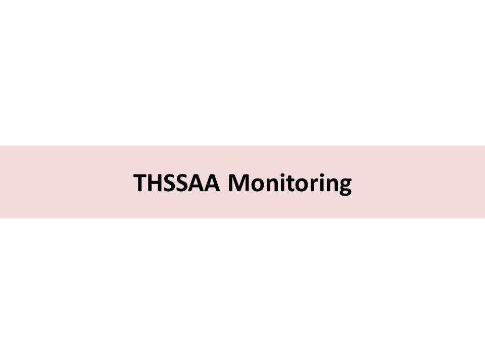 THSSAA Monitoring
