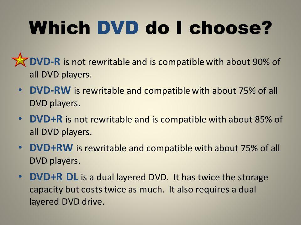 Do I have a DVD burner?