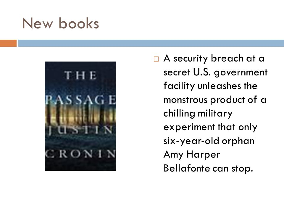 New books  A security breach at a secret U.S.