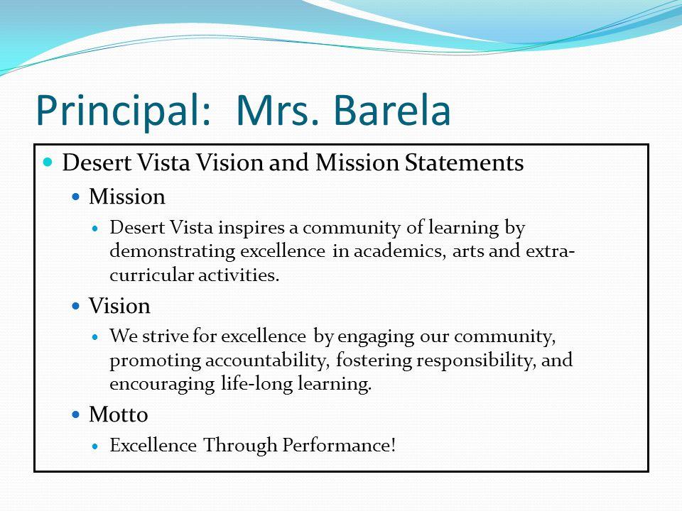 Principal: Mrs.