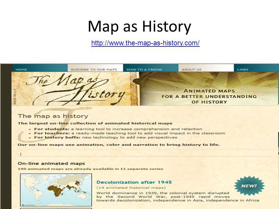 Map as History http://www.the-map-as-history.com/