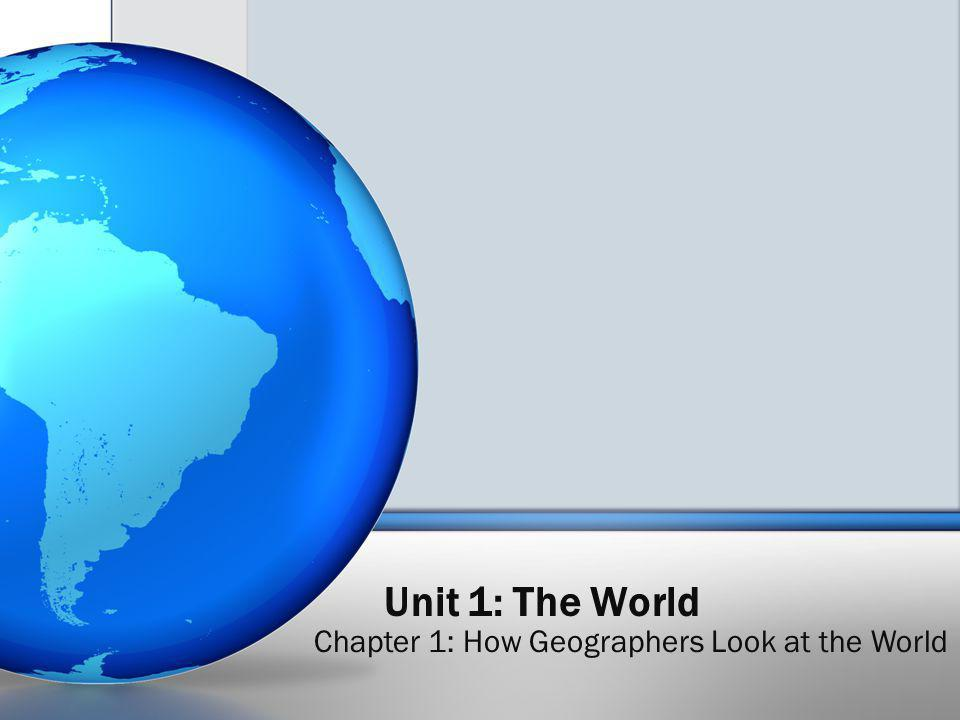 Why is geography important to our daily lives.Globes Scaled model of the Earth.
