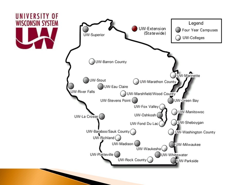  National reputation of quality ◦ Faculty/staff ◦ Educational experience  Program variety  Global exposure and experience  Transferability of course work  26 unique campus locations  Employability  Tremendous value/affordability