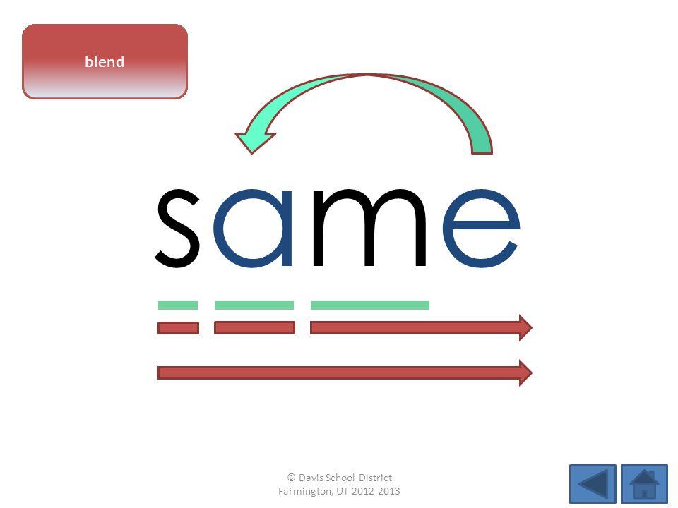 samesame vowel patternletter sounds blend