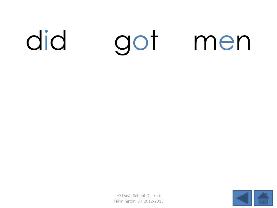 did gotgotmenmen fogmenpig menlidMeg © Davis School District Farmington, UT 2012-2013