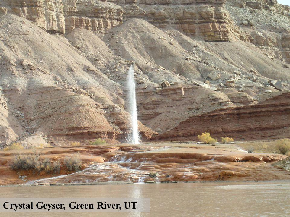 Crystal Geyser, Green River, UT