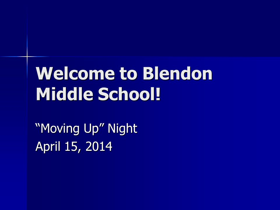 Blendon Familiar Faces Ms.Yingling Ms.