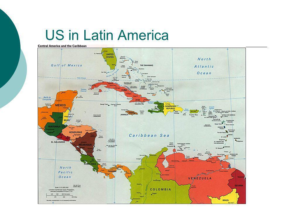 US in Latin America ..