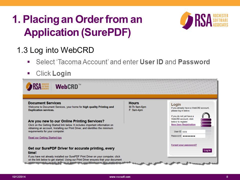 Additional Resources 10/12/201439 www.rocsoft.com  Online Help