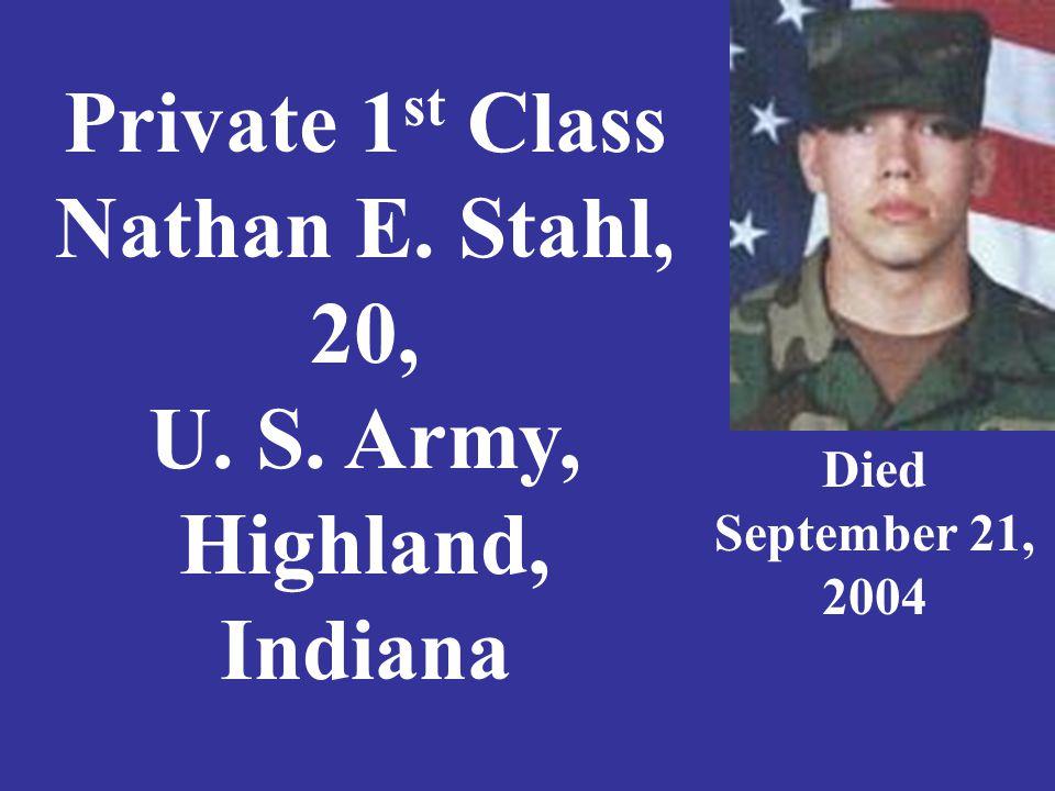 Sergeant Morgan W.Strader, 23, U. S.