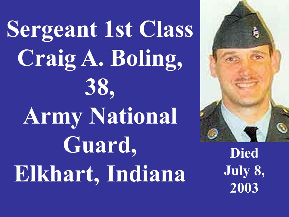 Sergeant Kenneth R. Booker, 25, U.S. Army, Vevay, Indiana Died Nov. 14, 2007