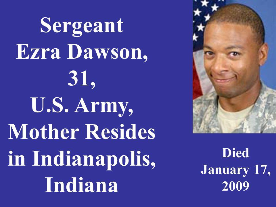Sergeant Matthew L.Deckard, 29, U. S.