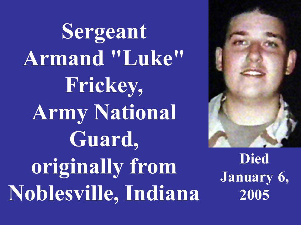 Sergeant Armand