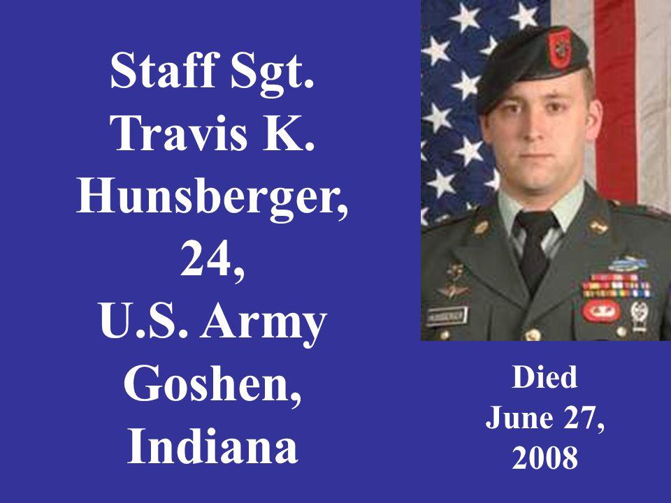Specialist Nick Idalski, 23, U. S. Army, Crown Point, Indiana Died June 21, 2005