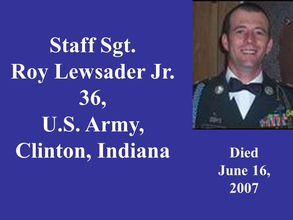 Staff Sergeant David L.