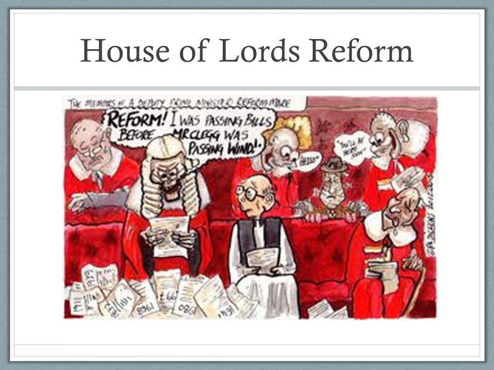 House of Lords Reform