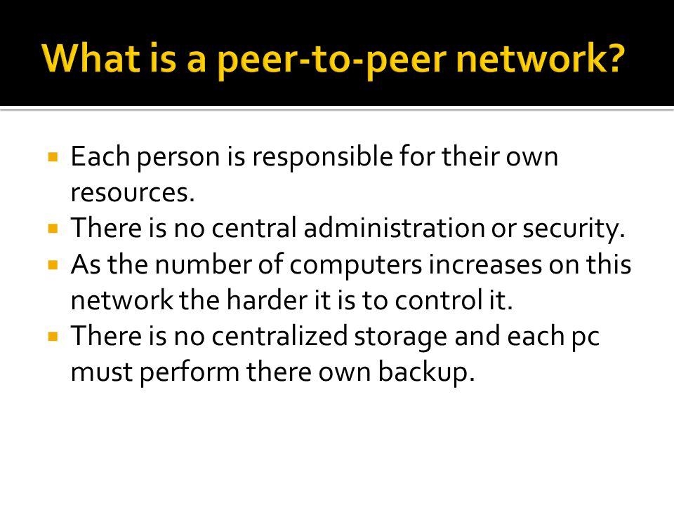  The client requests a task or information from the server then the server provides what has been requested is provided  Network administrators provide updates, backups, and restrictions.