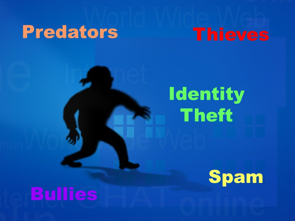 Predators Identity Theft Thieves Bullies Spam