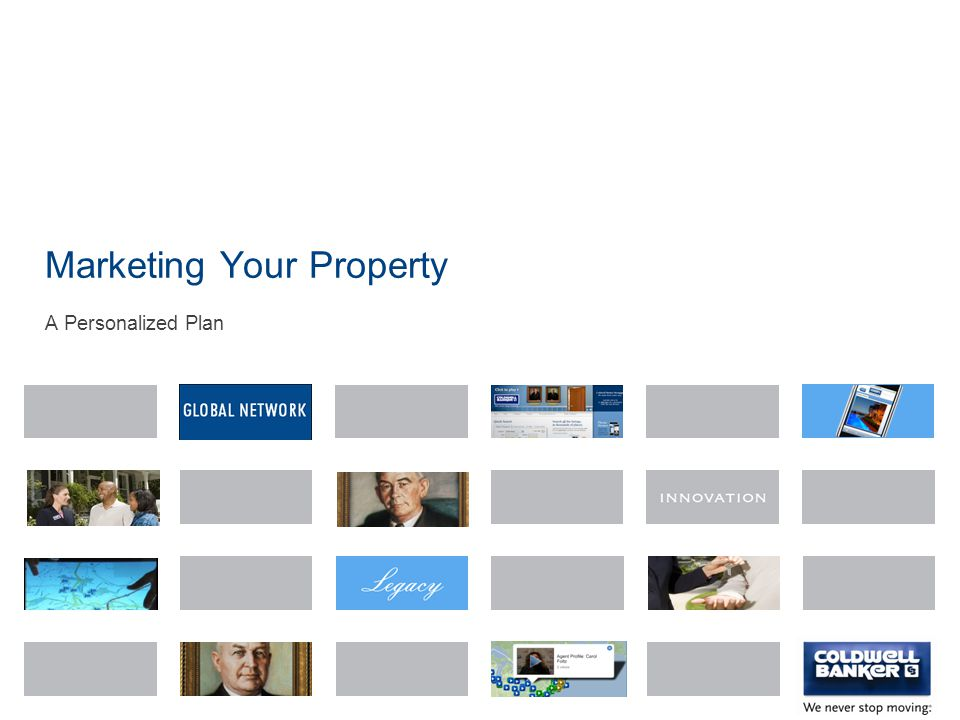 Marketing Your Property A Personalized Plan