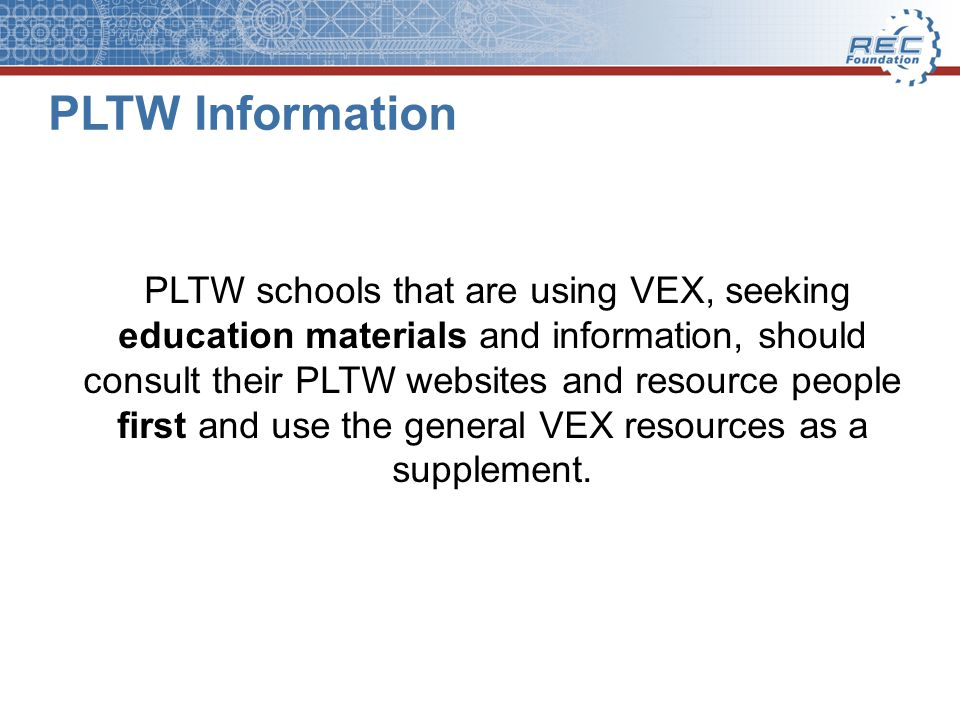 Education Resources for VEX IQ Platform (Elementary & Middle School) VEX IQ Curriculum – http://vexiq.com/curriculumhttp://vexiq.com/curriculum Standards Mapping Details for VEX IQ Curriculum, found in Teacher Materials links within each curriculum unit, for example: http://content.vexrobotics.com/vexiq/pdf/VEX_IQ_Curriculum_MEC_TeacherU nitInfo_v2.pdf http://content.vexrobotics.com/vexiq/pdf/VEX_IQ_Curriculum_MEC_TeacherU nitInfo_v2.pdf Standards Mapping for VEX IQ Challenge 2013-14 STEM Research Project: http://www.roboticseducation.org/documents/2013/09/vex-iq-challenge- stem-research-project-standards.pdf - VEX IQ Education Videos on Youtube: https://www.youtube.com/playlist?list=PLvvcc7S26YEgp60fNJwh64aj9ywiZ 79Ta - VEX IQ Education Videos to download and save: http://www.vexrobotics.com/vexiq/documents-downloads http://www.roboticseducation.org/documents/2013/09/vex-iq-challenge- stem-research-project-standards.pdf https://www.youtube.com/playlist?list=PLvvcc7S26YEgp60fNJwh64aj9ywiZ 79Ta http://www.vexrobotics.com/vexiq/documents-downloads