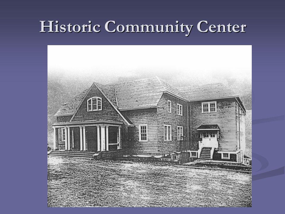 Historic Community Center