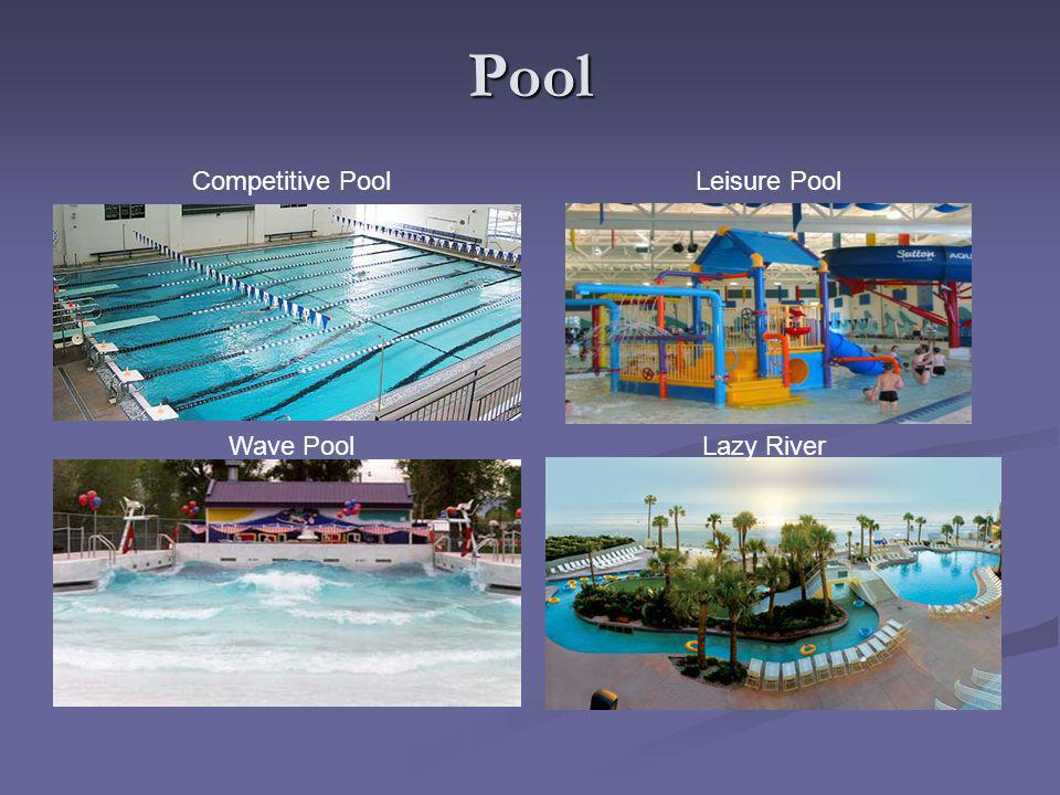 Pool Competitive PoolLeisure Pool Wave PoolLazy River