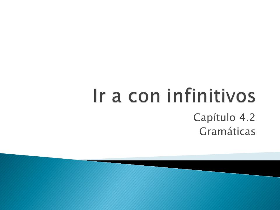 Capítulo 4.2 Gramáticas