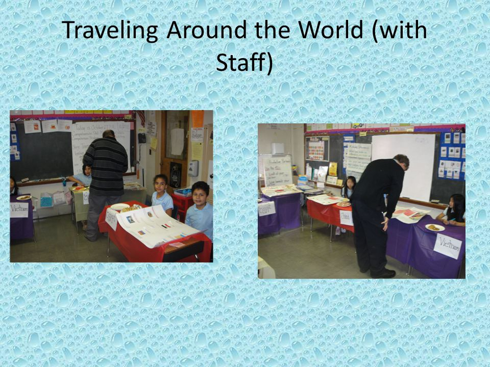 Traveling Around the World (with Staff)