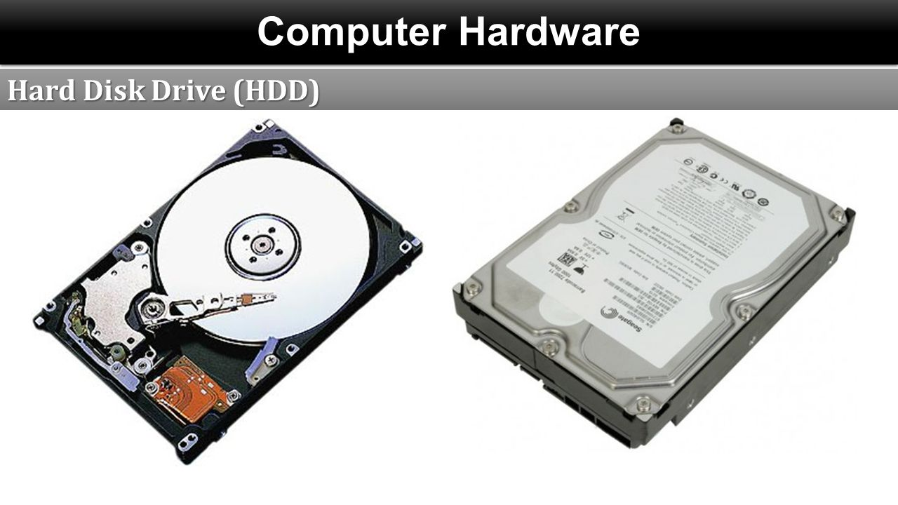 Computer Hardware Hard Disk Drive (HDD)