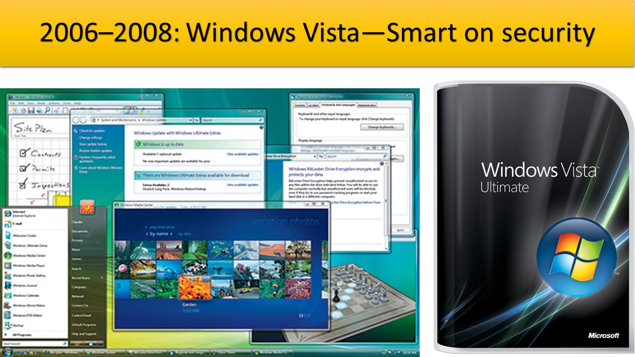 2006–2008: Windows Vista—Smart on security