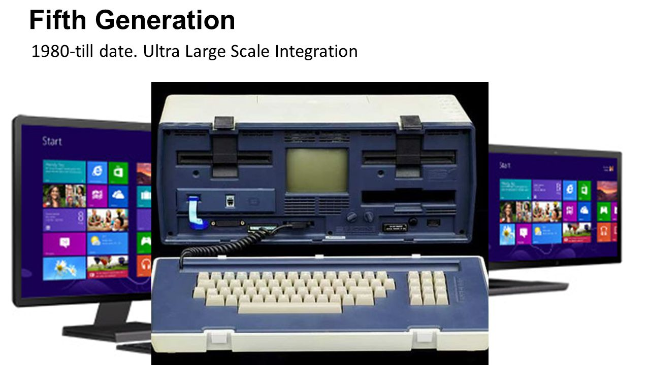 Fifth Generation 1980-till date. Ultra Large Scale Integration