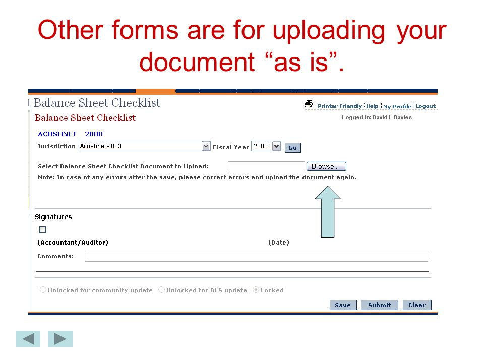 Other forms are for uploading your document as is .