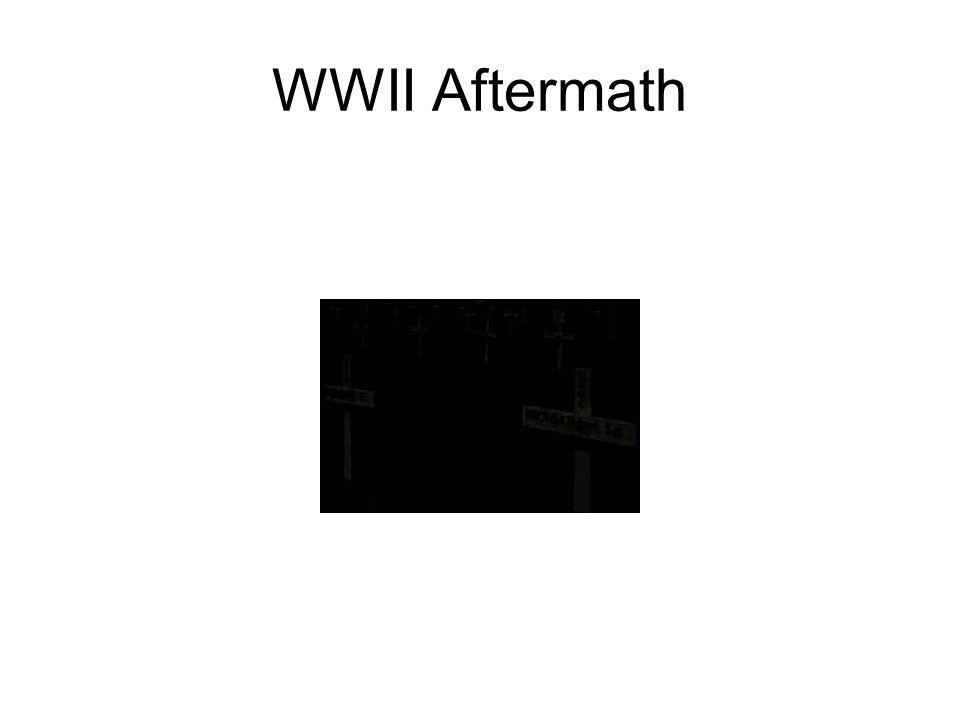 WWII Aftermath