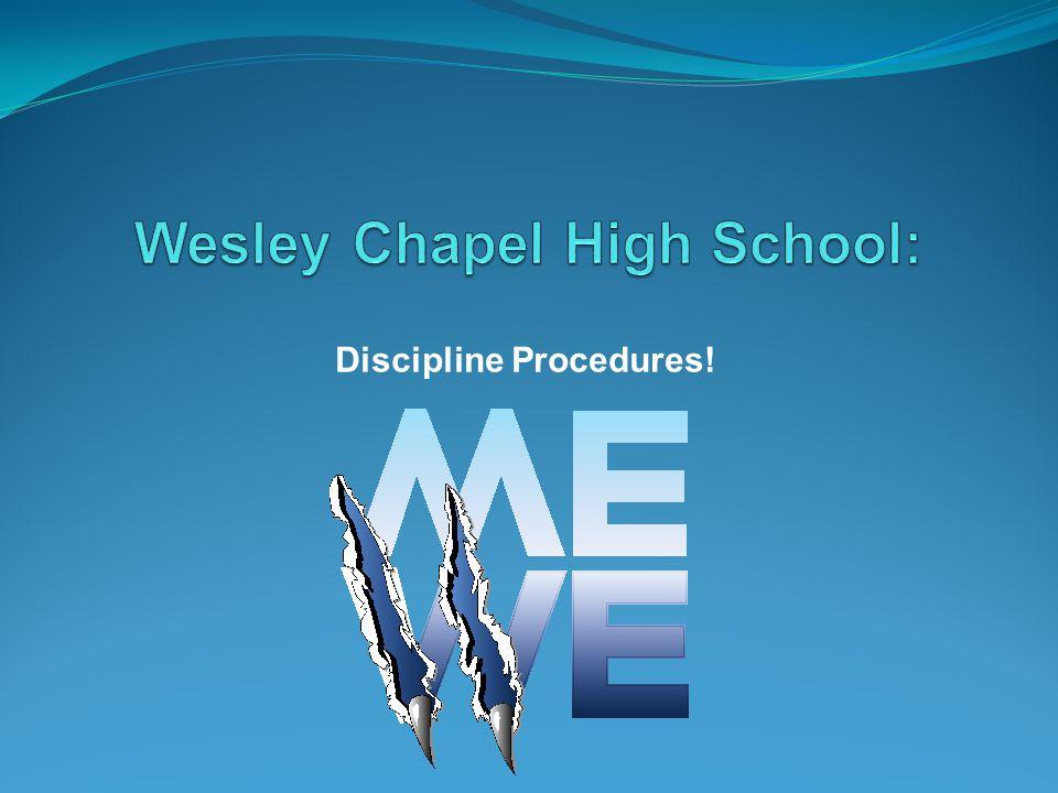 Discipline Procedures!