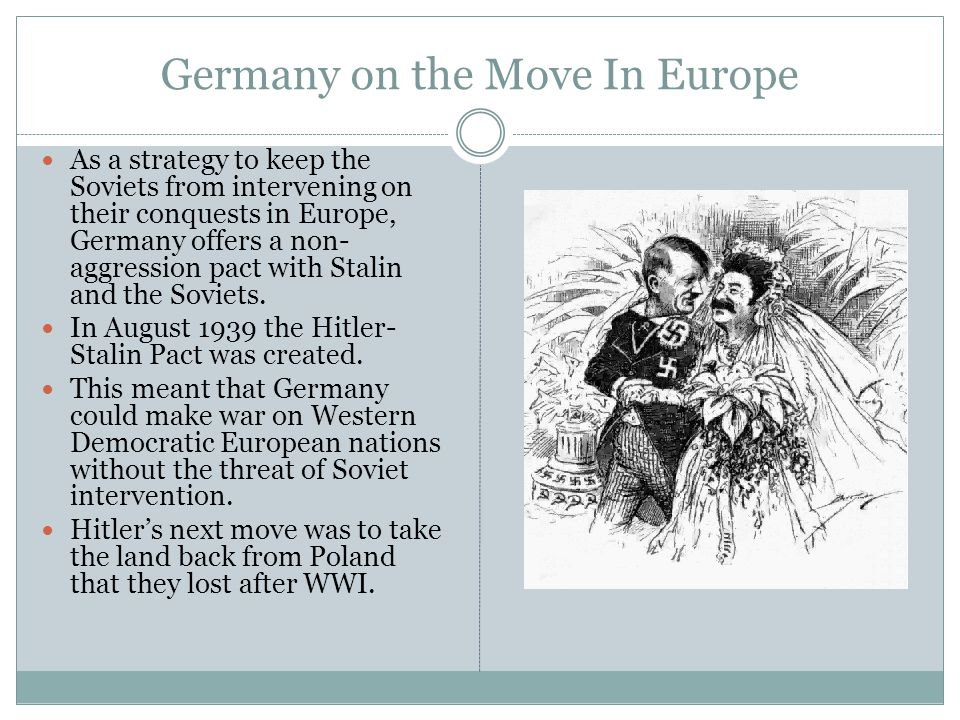 World War II Begins Poland refuses to give the land back.