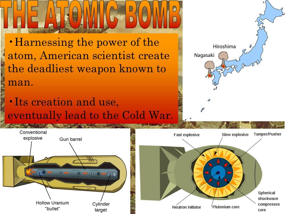 Harnessing the power of the atom, American scientist create the deadliest weapon known to man.