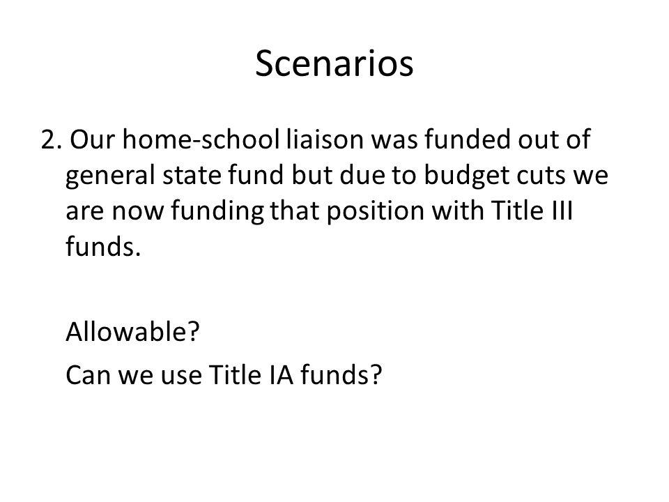 Scenarios 2.