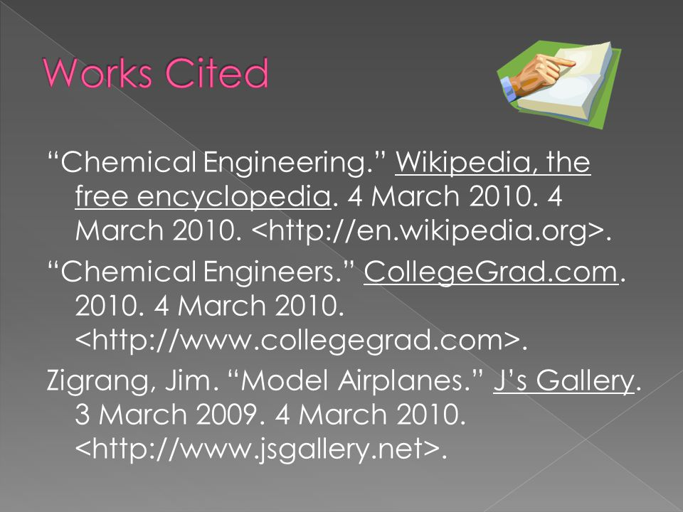 Chemical Engineering. Wikipedia, the free encyclopedia.